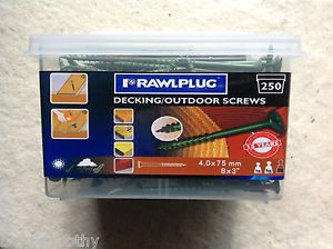 Cork Builders Providers rawlplug decking screws